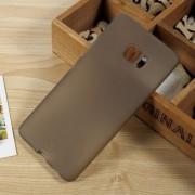 Anti-fingerprint Matte TPU Back Skin Case for HTC U Ultra - Grey