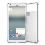 Υβριδική Θήκη Σιλικόνης TPU σε Συνδυαμό με Πλαστικό για Google Pixel 2 XL - Διάφανο