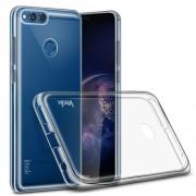 IMAK Stealth Case Clear 0.8mm TPU Phone Case + Screen Protector Film for Huawei Honor 7X