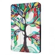 Δερμάτινη Θήκη Βιβλίο Tri-Fold με Βάση Στήριξης Huawei MediaPad T3 7.0 - Δέντρο με Πολύχρωμα Φύλλα