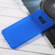 Anti-fingerprint Matte TPU Protection Case for Samsung Galaxy S8 Plus - Blue