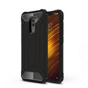 Tough Armor Υβριδική Θήκη Σιλικόνης TPU σε Συνδυαμό με Πλαστικό για Xiaomi Pocophone F1 - Μαύρο