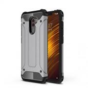 Tough Armor Υβριδική Θήκη Σιλικόνης TPU σε Συνδυαμό με Πλαστικό για Xiaomi Pocophone F1 - Γκρι