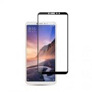 MOCOLO Silk Print Complete Coverage Tempered Glass Screen Protector for Xiaomi Mi Max 3 - Black