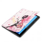 Δερμάτινη Θήκη Βιβλίο Tri-Fold με Βάση Στήριξης Huawei MediaPad T5 10 - Νεραϊδοκόριτσο