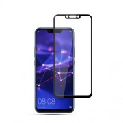 MOCOLO Arc Edge Full Coverage Tempered Glass Screen Protector for Huawei Mate 20 Lite / Maimang 7 - Black