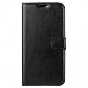 Crazy Horse Wallet Leather Stand Case for Huawei Y6 (2018) / Honor 7A (without Fingerprint Sensor) - Black