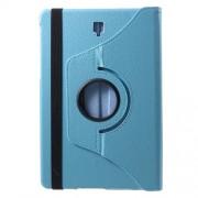 Περιστρεφόμενη Δερμάτινη Θήκη Βιβλίο με Βάση Στήριξης για Samsung Galaxy Tab S4 10.5 T830/T835 - Γαλάζιο