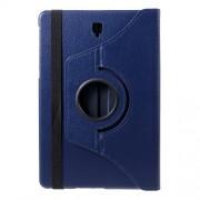 Περιστρεφόμενη Δερμάτινη Θήκη Βιβλίο με Βάση Στήριξης για Samsung Galaxy Tab S4 10.5 T830/T835 - Σκούρο Μπλε