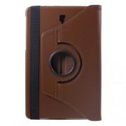 Περιστρεφόμενη Δερμάτινη Θήκη Βιβλίο με Βάση Στήριξης για Samsung Galaxy Tab S4 10.5 T830/T835 - Καφέ