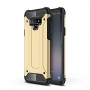 Armor Guard Plastic + TPU Combo Cover Case for Samsung Galaxy Note 9 - Gold