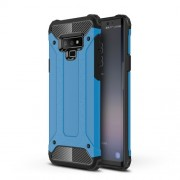 Armor Guard Plastic + TPU Hybrid Mobile Phone Case for Samsung Galaxy Note 9 - Baby Blue