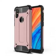 Tough Armor Υβριδική Θήκη Σιλικόνης TPU σε Συνδυαμό με Πλαστικό για Xiaomi Mi Mix 2s - Ροζέ Χρυσαφί