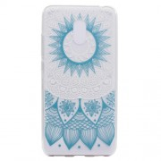 For Meizu M6 Soft TPU Ultra Patterned Ultra-thin Phone Accessory Cover - Sunflower