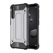 Tough Armor Υβριδική Θήκη Σιλικόνης TPU σε Συνδυαμό με Πλαστικό για Huawei P20 Pro - Γκρι