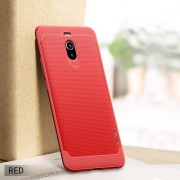 IPAKY Anti-shocking TPU Protection Cell Phone Cover for Meizu M6 Note - Red