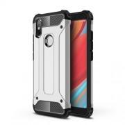 Tough Armor Υβριδική Θήκη Σιλικόνης TPU σε Συνδυαμό με Πλαστικό για Xiaomi Redmi S2 / Y2 - Ασημί
