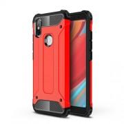 Tough Armor Υβριδική Θήκη Σιλικόνης TPU σε Συνδυαμό με Πλαστικό για Xiaomi Redmi S2 / Y2 - Κόκκινο