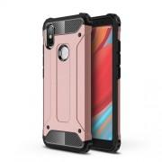 Tough Armor Υβριδική Θήκη Σιλικόνης TPU σε Συνδυαμό με Πλαστικό για Xiaomi Redmi S2 / Y2 - Ροζέ Χρυσαφί