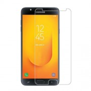 0.3mm Tempered Glass Screen Protector Arc Edge for Samsung Galaxy J7 Prime 2 / J7 Prime (2018)