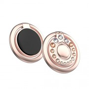 KINGXBAR Authorized Swarovski Δαχτυλίδι Βάση Στήριξης με Σβαρόφσκι για Smartphones - Ροζέ Χρυσαφί