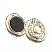 KINGXBAR Authorized Swarovski Δαχτυλίδι Βάση Στήριξης με Σβαρόφσκι για Smartphones - Χρυσαφί
