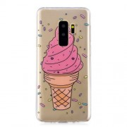 Pattern Printing IMD TPU Back Cover for Samsung Galaxy S9 Plus SM-G965 - Ice Cream