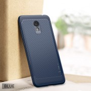 IPAKY Anti-shocking TPU Cell Phone Cover for Meizu M6 - Blue