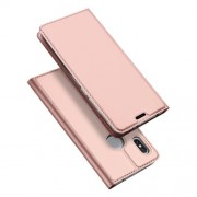 DUX DUCIS Skin Pro Series Θήκη Πορτοφόλι με Βάση Στήριξης για Xiaomi Redmi S2 - Ροζέ Χρυσαφί