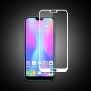 MOCOLO Silk Print Arc Edge Full Coverage Tempered Glass Screen Film for Huawei Honor 10 - White