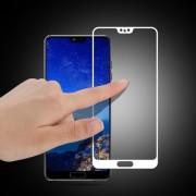 MOCOLO Σκληρυμένο Γυαλί (Tempered Glass) Προστασίας Οθόνης Πλήρης Κάλυψης για Huawei P20 - Λευκό