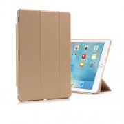 Tri-fold Leather Smart Cover + Companion PC Case for iPad Pro 9.7 - Gold