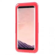 IP68 Αδιάβροχη Θήκη για Καταδύσεις μέχρι 3 Μέτρα για Samsung Galaxy S8 Plus SM-G955 - Κόκκινο