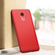 IPAKY Anti-shocking TPU Protection Back Phone Cover for Meizu M6 - Red
