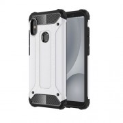 Tough Armor Υβριδική Θήκη Σιλικόνης TPU σε Συνδυαμό με Πλαστικό για Xiaomi Redmi Note 5 / Note 5 Pro - Λευκό