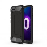 Armor Guard Plastic + TPU Hybrid Case for Huawei Honor 10 - Black