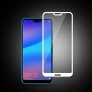 MOCOLO Σκληρυμένο Γυαλί (Tempered Glass) Προστασίας Οθόνης Πλήρης Κάλυψης για Huawei P20 Lite - Λευκό