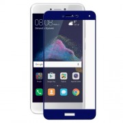 HAT PRINCE 0.26mm 9H 2.5D Arc Edge Full Covering Tempered Glass Screen Protector Guard Film for Huawei P8 Lite (2017) / Honor 8 Lite - Dark Blue
