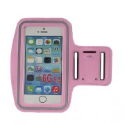 5.5-inch Gym Running Jogging Sports Armband Mobile Phone Shell for iPhone 8 Plus / 7 Plus / 6s Plus / 6 Plus 5.5 inch - Pink