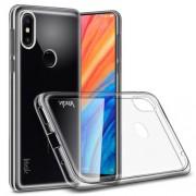IMAK for Xiaomi Mi Mix 2s Stealth Clear TPU Case Phone Cover + Screen Protector Film
