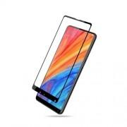 MOCOLO Silk Print Arc Edge Full Coverage Tempered Glass Screen Protector for Xiaomi Mi Mix 2s - Black