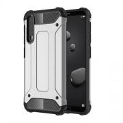 Tough Armor Υβριδική Θήκη Σιλικόνης TPU σε Συνδυαμό με Πλαστικό για Huawei P20 Pro - Ασημί