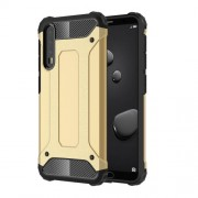 Armor Guard Plastic + TPU Combo Cell Phone Shell for Huawei P20 Pro - Gold