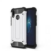 Armor Guard Plastic + TPU Hybrid Shell Case for Huawei P20 Lite / Nova 3e (China) - White