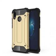 Armor Guard Plastic + TPU Combo Cover Case for Huawei P20 Lite / Nova 3e (China) - Gold