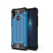 Armor Guard Plastic + TPU Hybrid Case Accessory for Huawei P20 Lite / Nova 3e (China) - Baby Blue