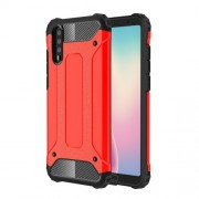Armor Guard Plastic + TPU Hybrid Case Shell for Huawei P20 - Red