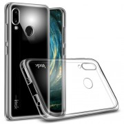 IMAK Stealth Case Clear 0.7mm TPU Back Case + Screen Protector for Huawei P20 Lite / Nova 3e