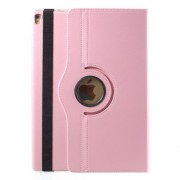 Litchi Grain 360 Rotary Stand Leather Case Accessory for iPad Pro 12.9-inch (2017) - Pink