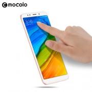 MOCOLO Silk Print Full Coverage Tempered Glass Screen Protector for Xiaomi Redmi 5 - White